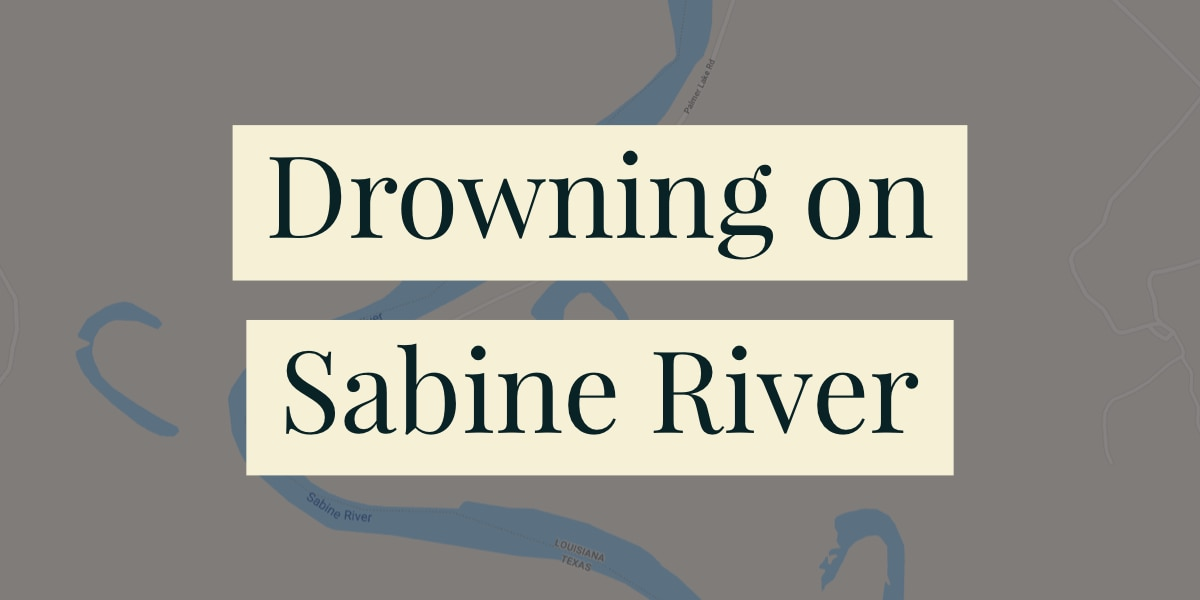 Body of drowning victim recovered from Sabine River
