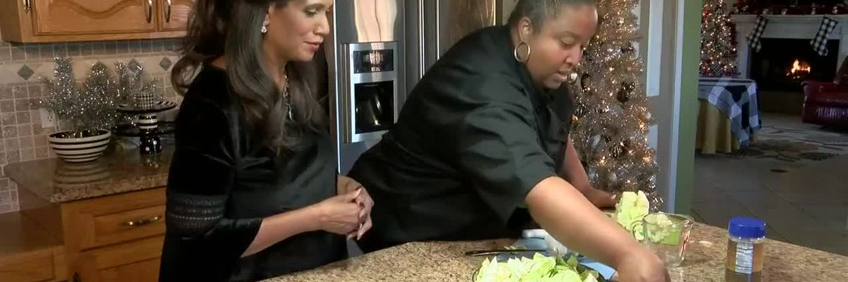 CYNTHIA'S HOLIDAY KITCHEN: Cabbage and black-eyed peas