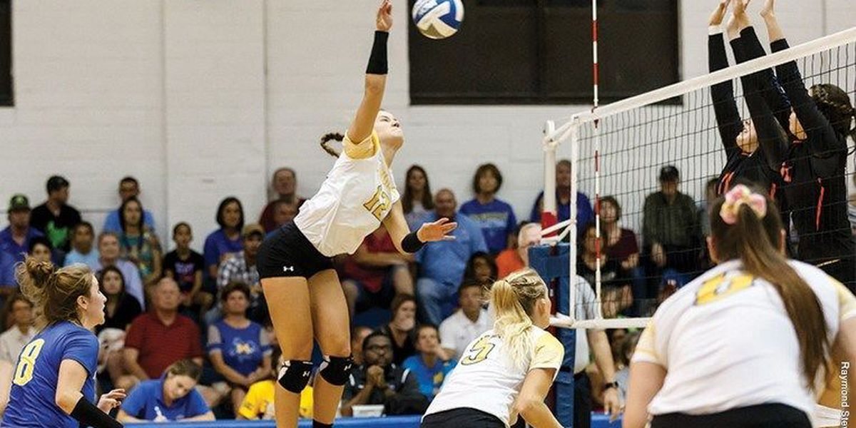 Northwestern State rallies back with three straight sets to down McNeese, 3-2