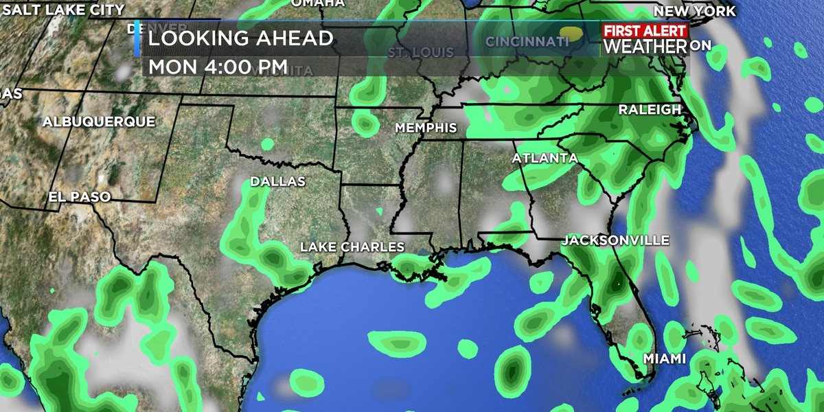 FIRST ALERT FORECAST: Normal scattered storms continue with more tropical activity