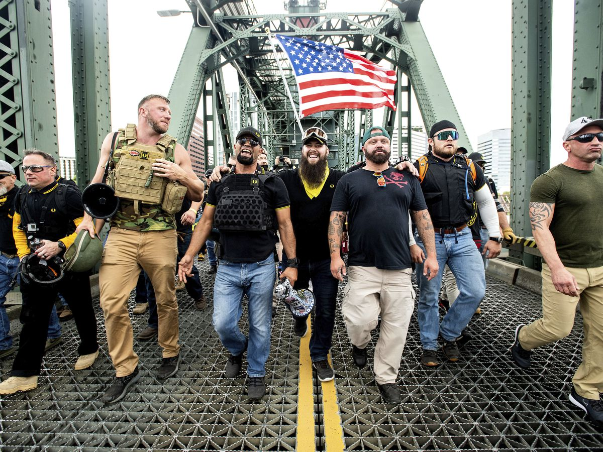 Proud Boy organizer arrested in Florida for riot at Capitol