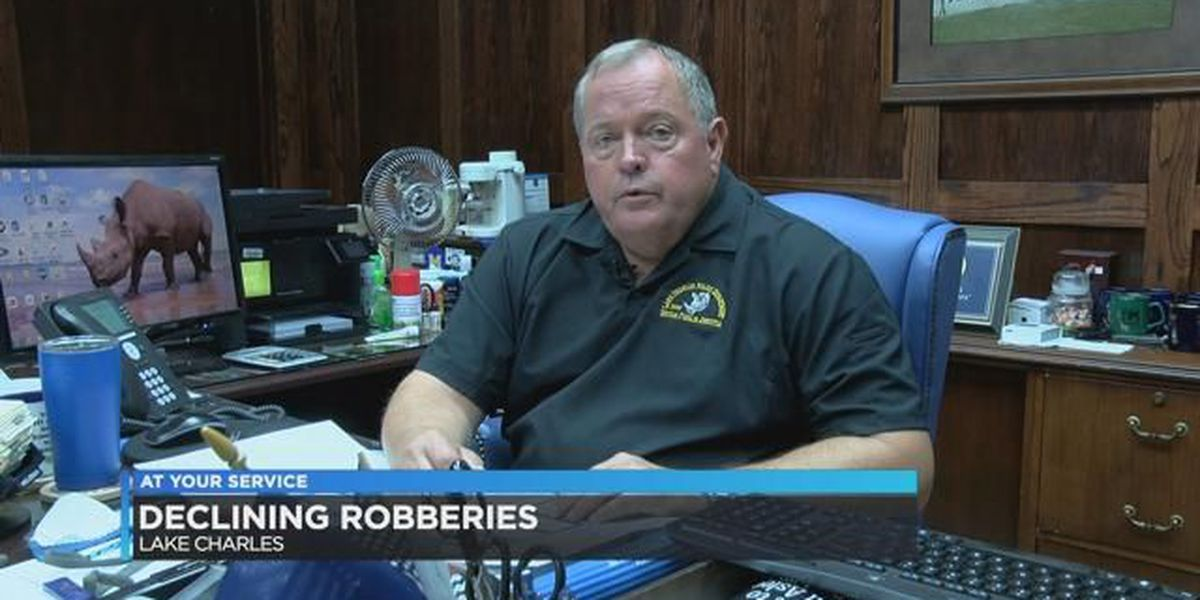 Lake Charles police say robberies rates are on a decline
