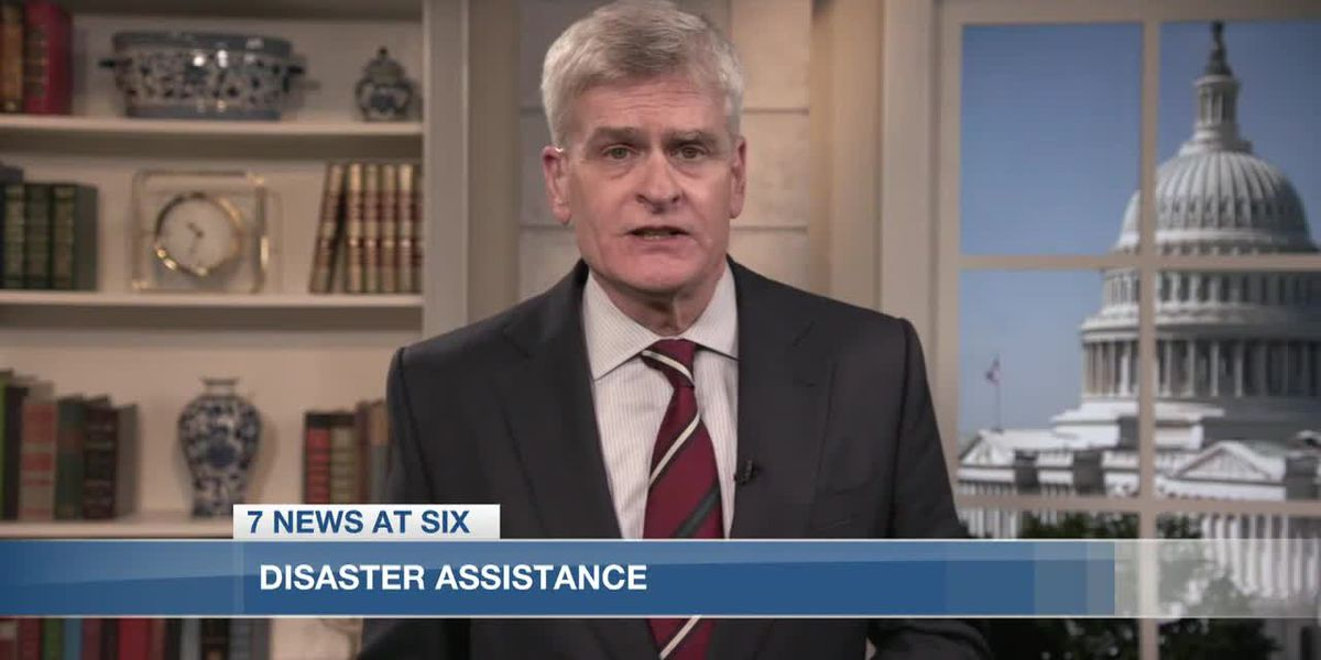 Sen. Cassidy speaks on disaster relief assistance