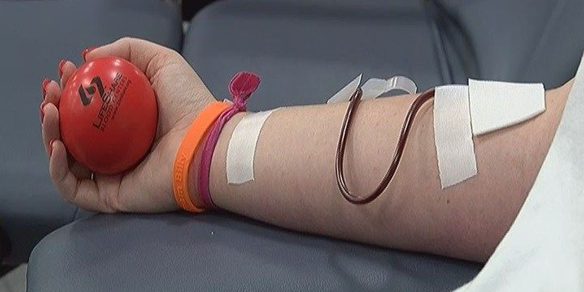 More blood donations needed during summer months