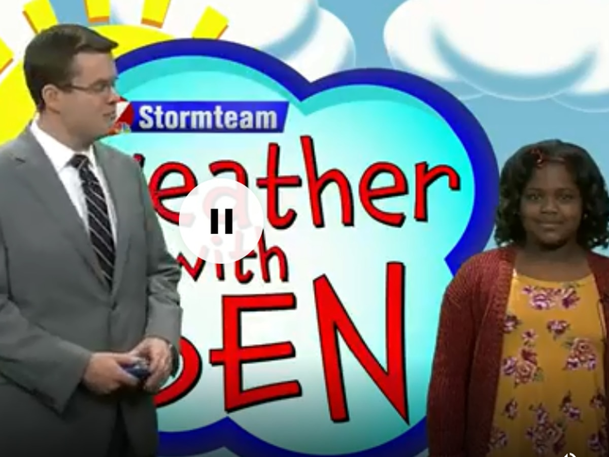 WEATHER WITH BEN: Camille Stevens