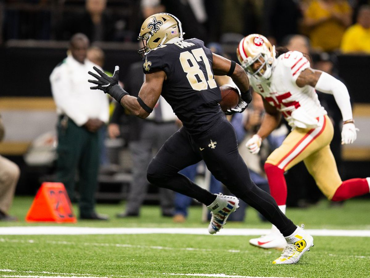 Saints tight end Jared Cook upgraded in latest Saints injury report