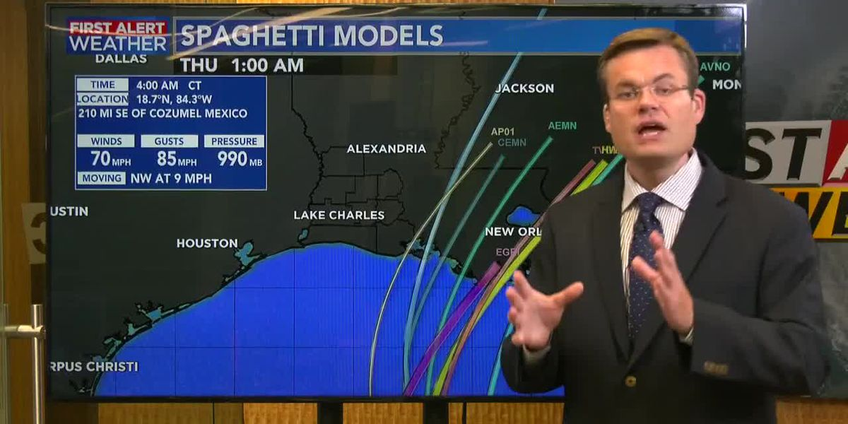 FIRST ALERT FORECAST: Tracking Zeta