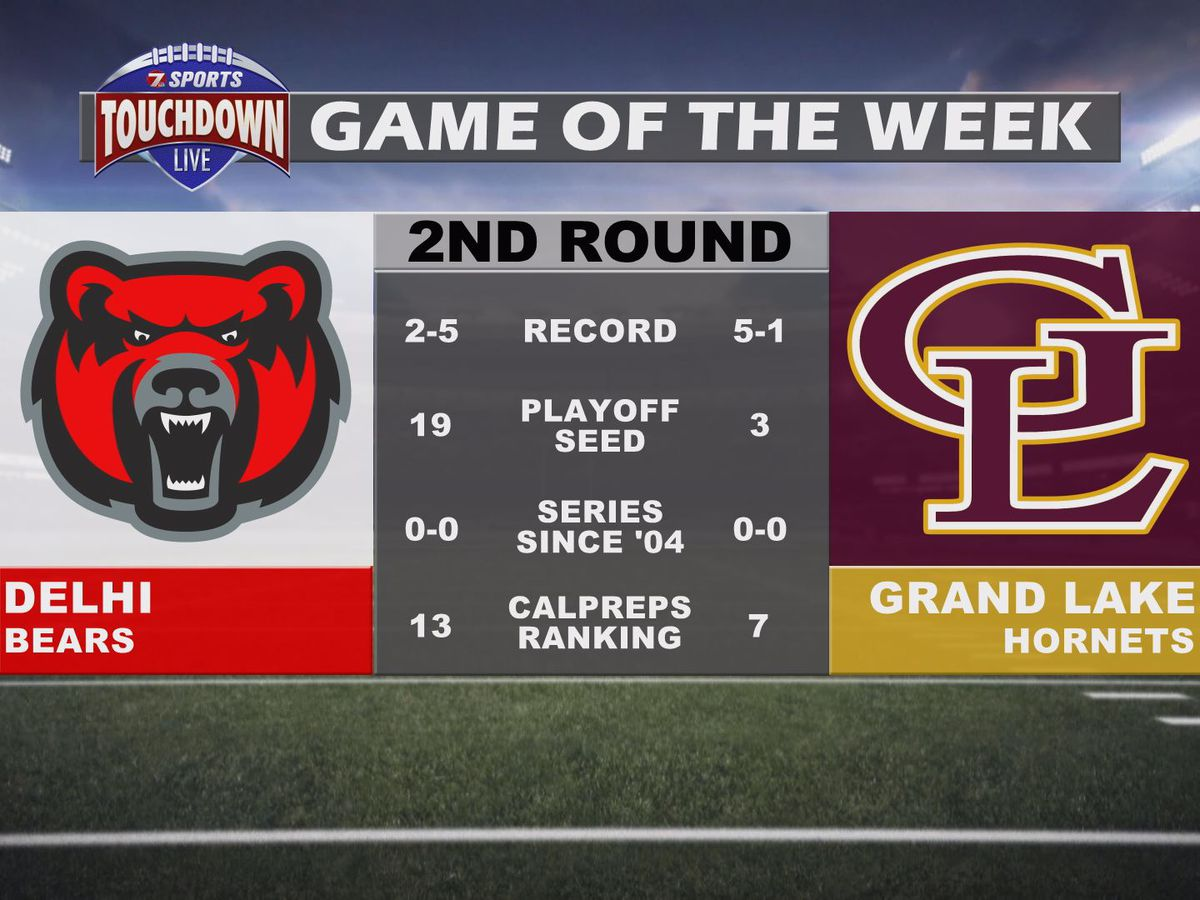 Delhi vs. Grand Lake named TDL Game of the Week for the second round of the playoffs