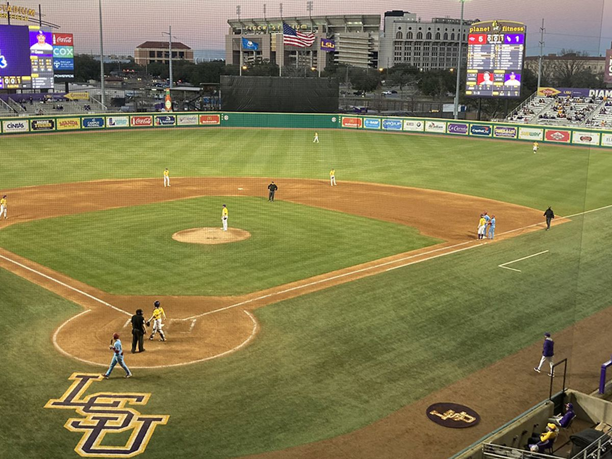 LSU plans to increase capacity for outdoor sports to 50 percent