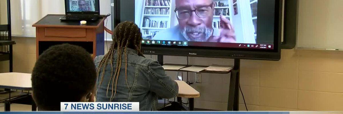 LaGrange High hosts Louisiana Laureate John Smith in poetry workshop
