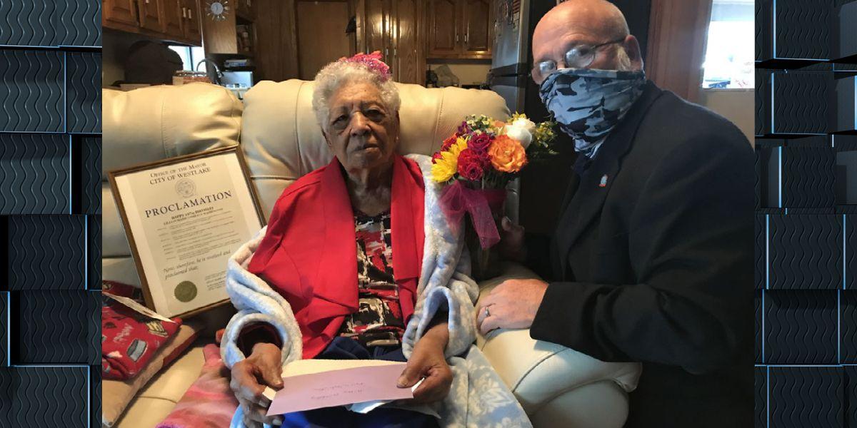Westlake woman celebrates 107th Birthday with Mayor