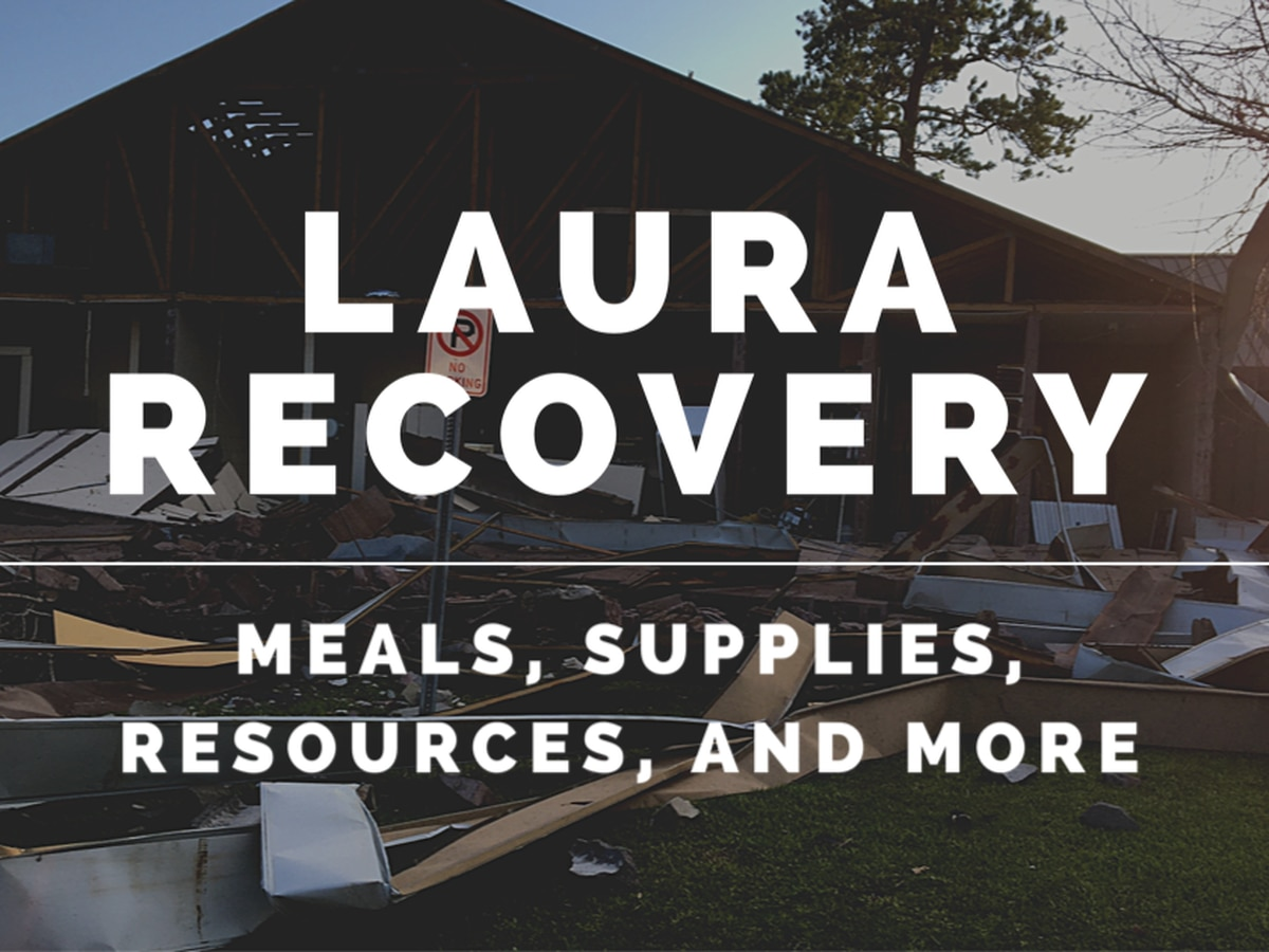 LAURA RECOVERY: What you need to know - Tuesday, Sept. 22