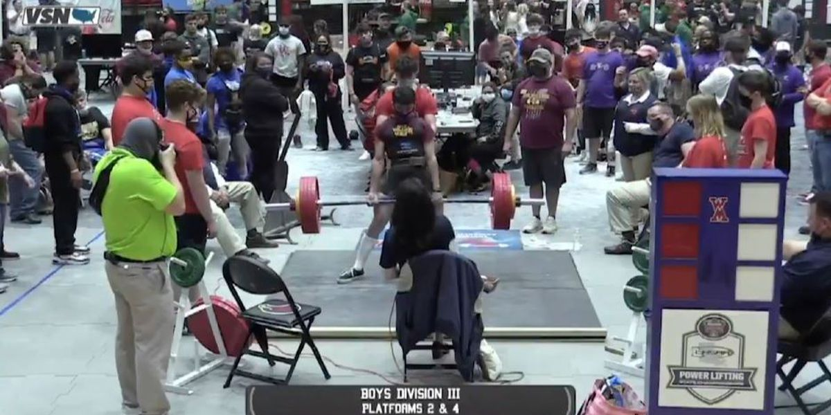 Parker Seilhan sets DIII record as three Iota Bulldogs win powerlifting state championships
