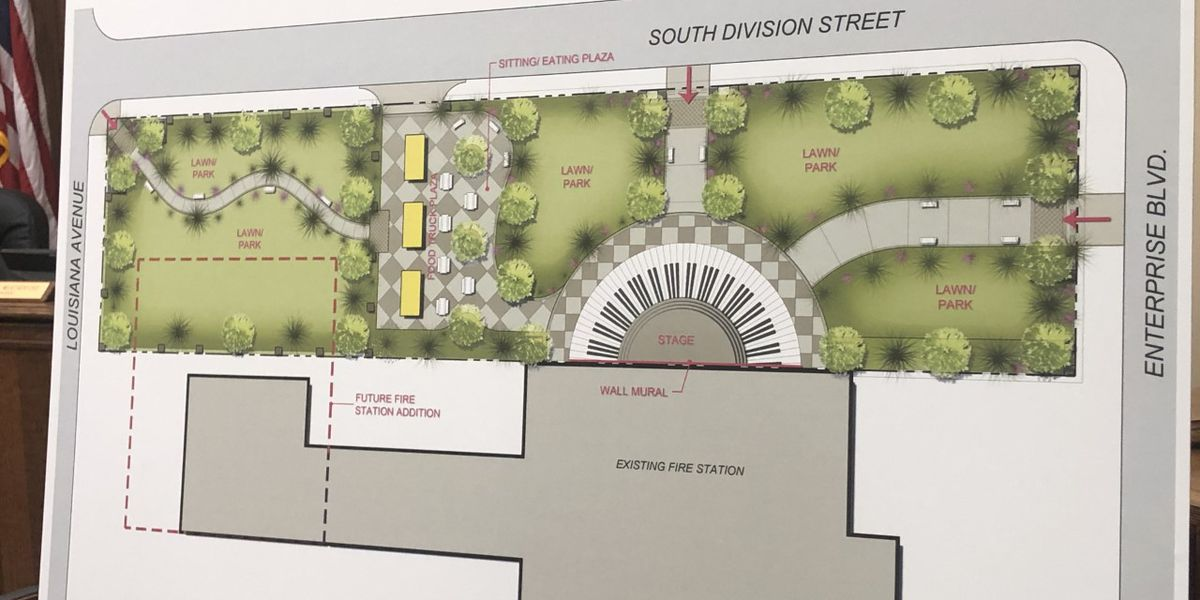 New park to be built in Lake Charles