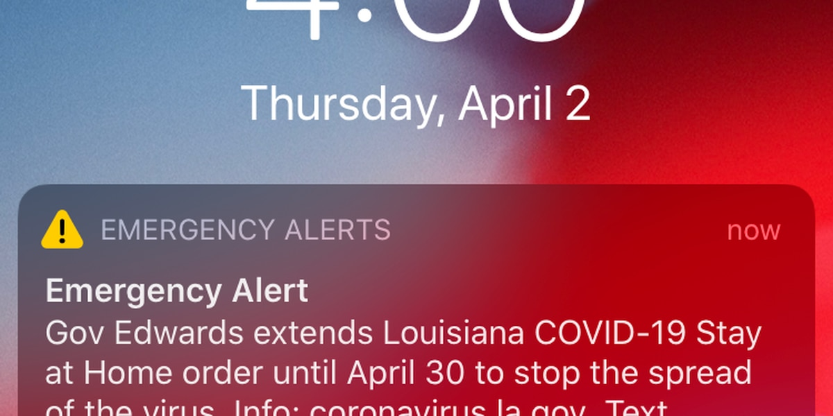 Gov. Edwards launches new text alert system to give La. residents COVID-19 updates
