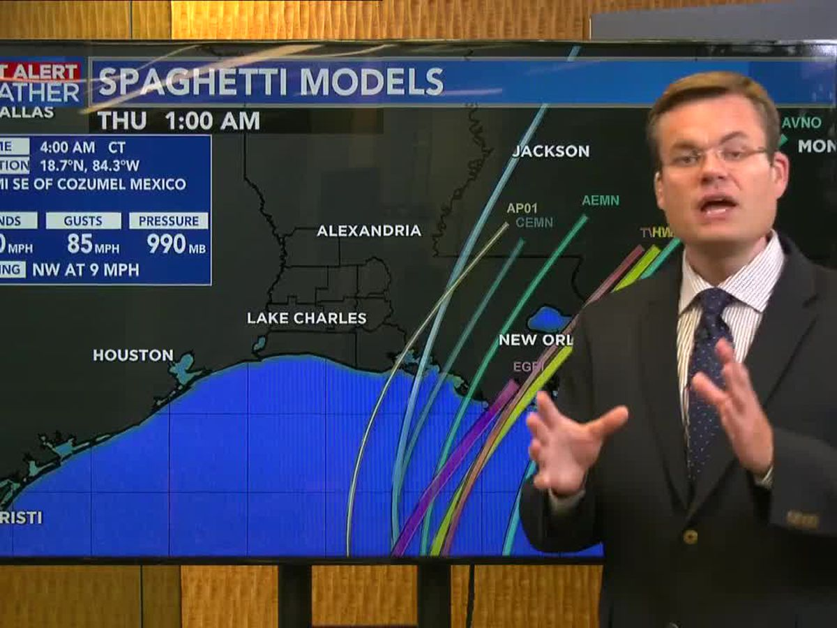 Zeta to become a hurricane as it enters the Gulf Tuesday