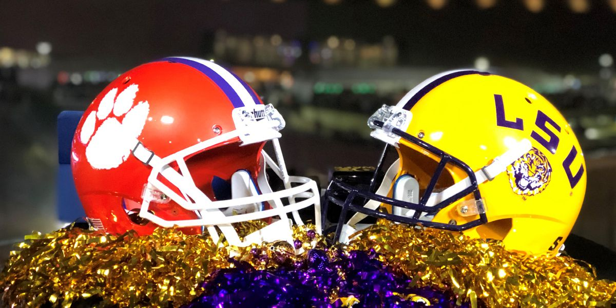 GAME UPDATES: No. 1 LSU defeats No 3 Clemson in CFP National Championship