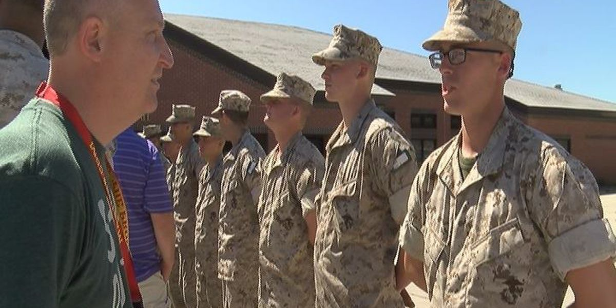RAW VIDEO: Training with the Marine Corps on Parris Island