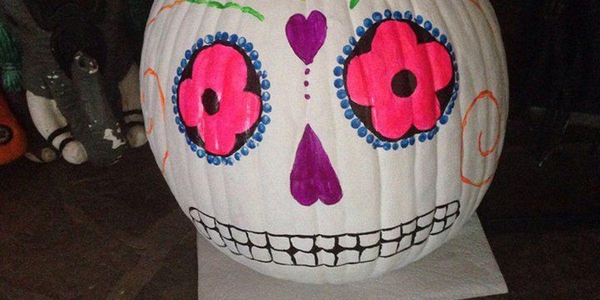 Show us your jack-o-lanterns, decorated pumpkins