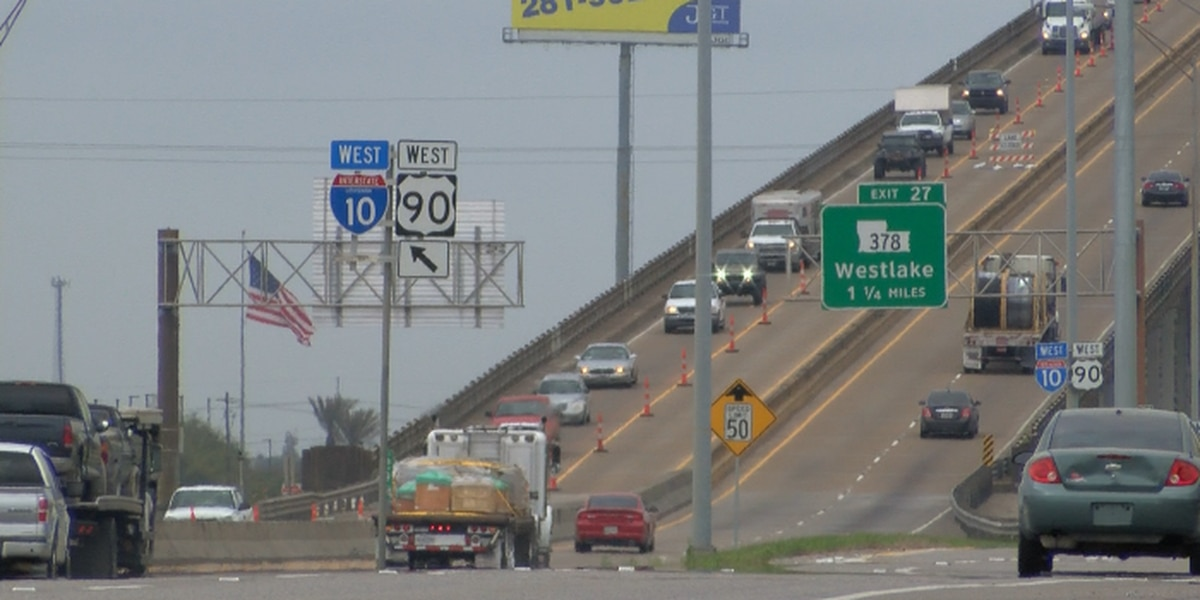 Where are the I-10 construction workers?