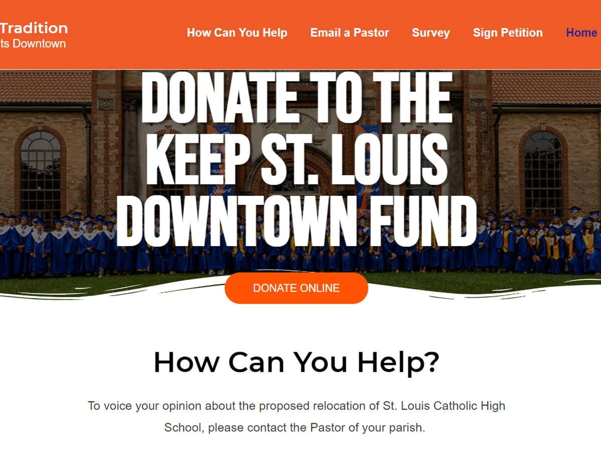 """Keep St. Louis Downtown"" funding campaign kicked off"