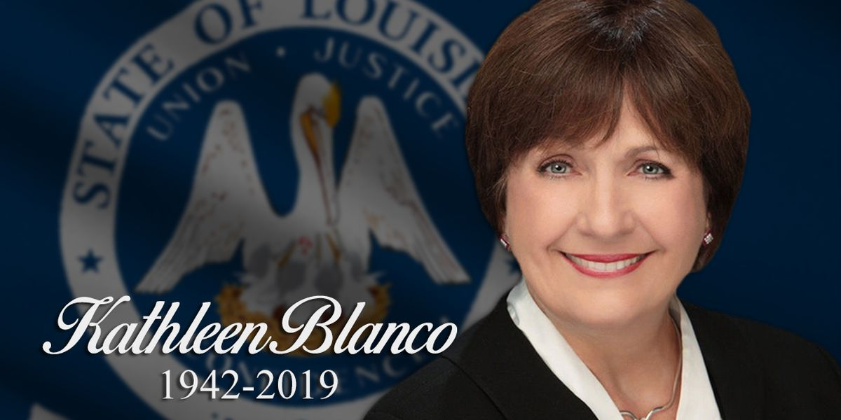 Former Governor Blanco remembered as one who genuinely cared about the people of Louisiana