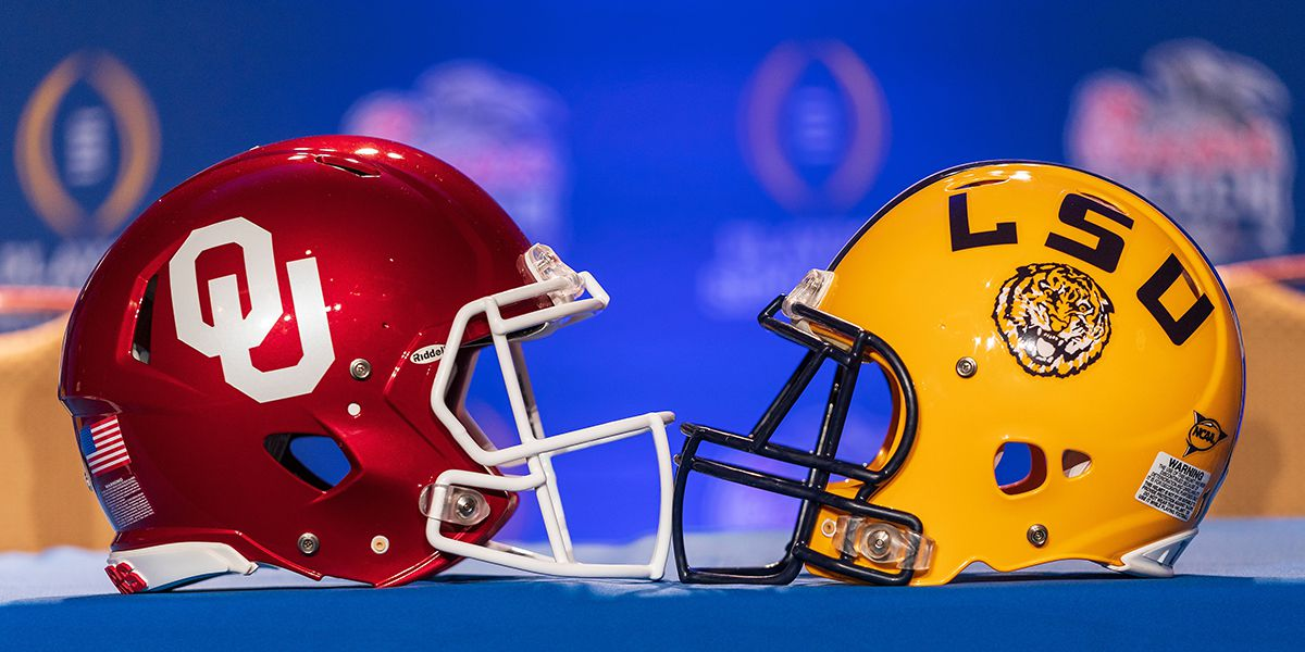 LSU-Oklahoma presents strength-on-strength matchup - explosive offense against speedy defense