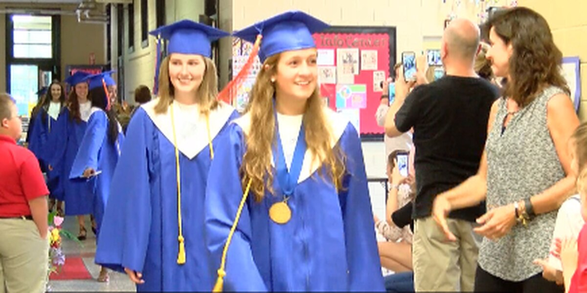 Immaculate Conception Cathedral School celebrates graduates