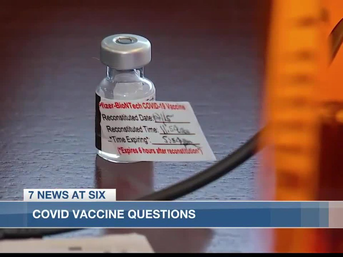 Common COVID vaccine questions answered by local healthcare expert