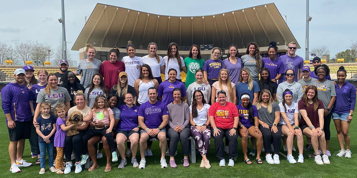 2020 LSU softball family gathers for perhaps last time
