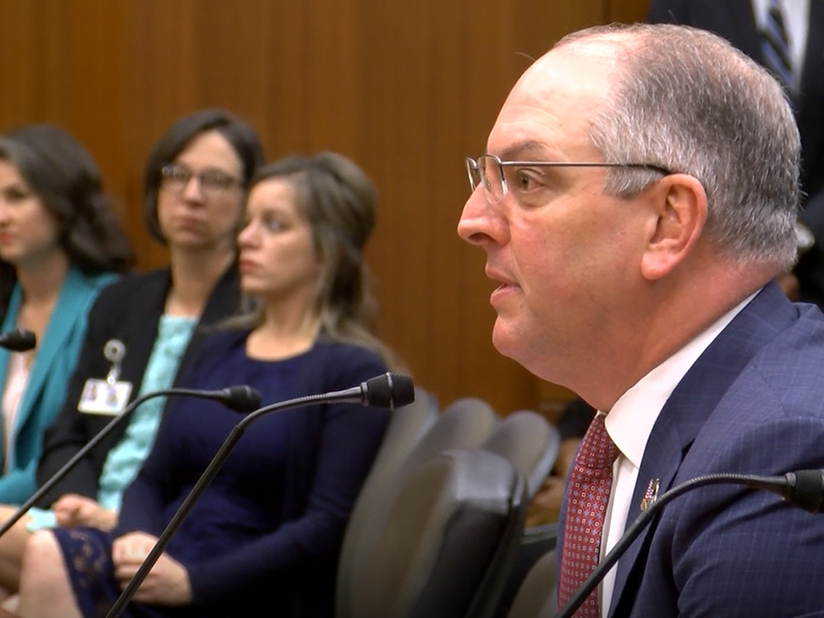 Governor Edwards says funding is available to increase teacher pay
