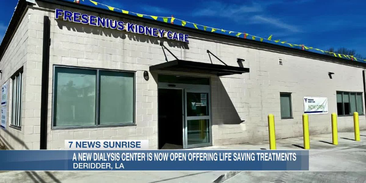 Dialysis center offers life saving treatment to residents