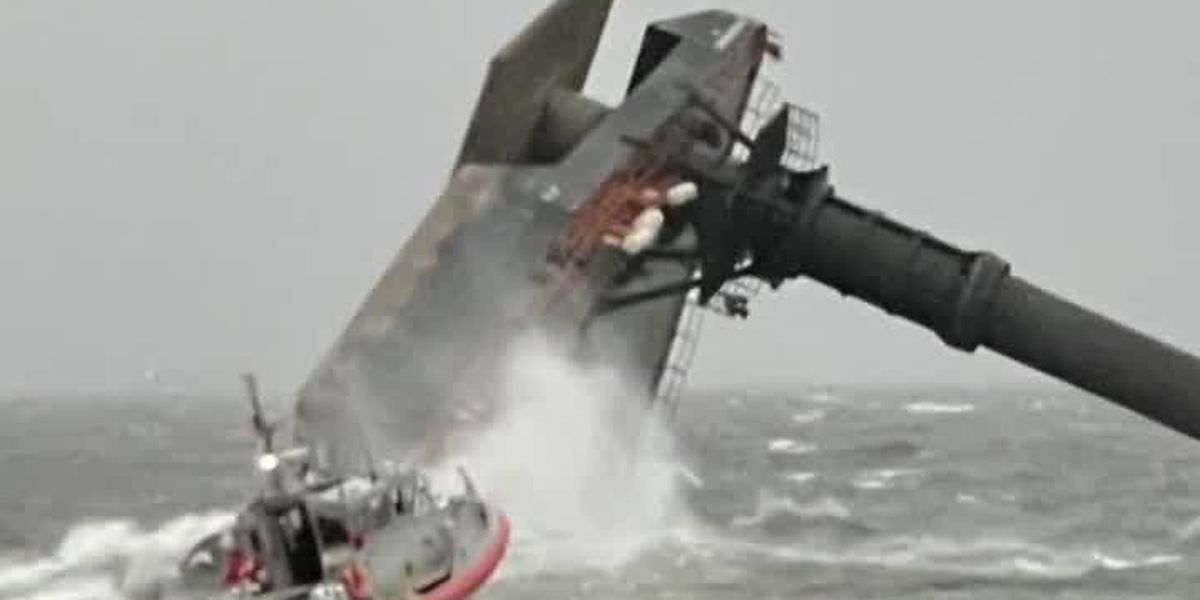 Coast Guard announces two bodies of crewmembers recovered; now up to four total