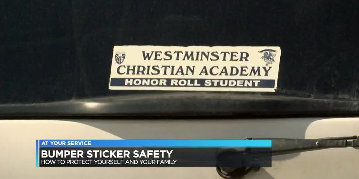 CPSO: Identifying bumper stickers can make you an easy target for criminals