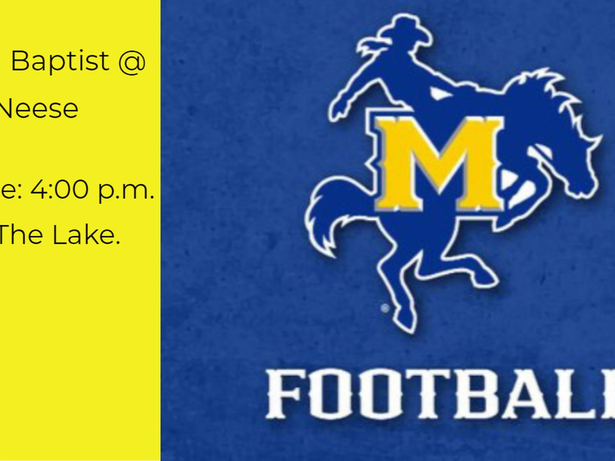 McNeese hosts HBU for Homecoming Game