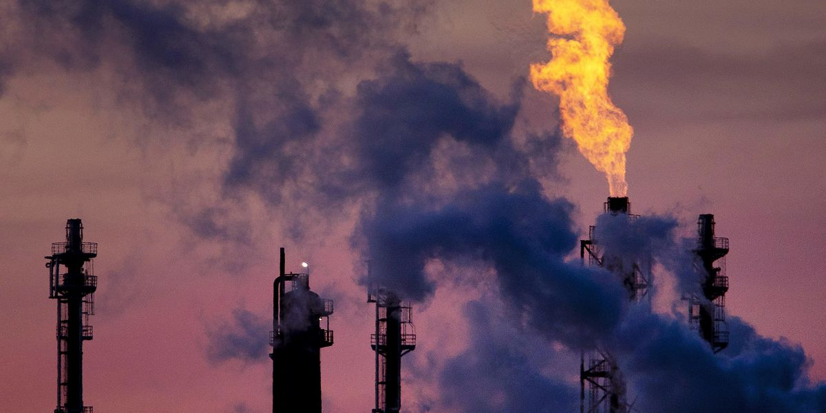 Global Carbon Emissions Reach Highest Level in Recorded History