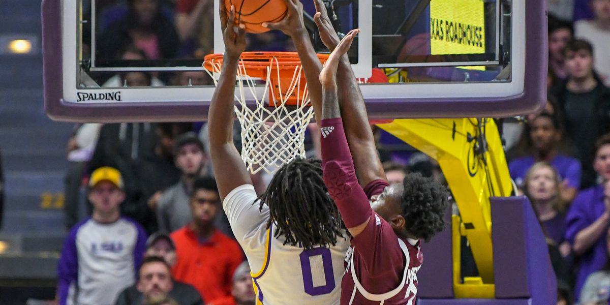 No. 13 LSU basketball holds on for 66-55 win over Texas A&M