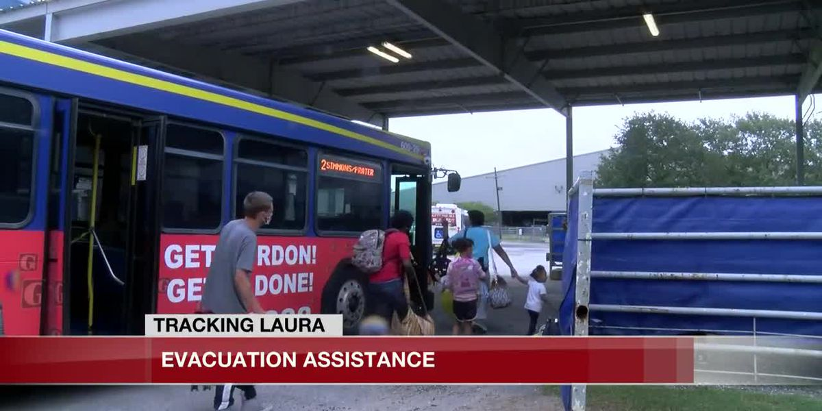 Transit system gives evacuation assistance