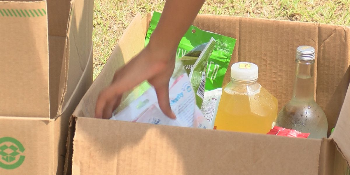 United Cajun Navy and Healthy Blue host drive-thru food pantry