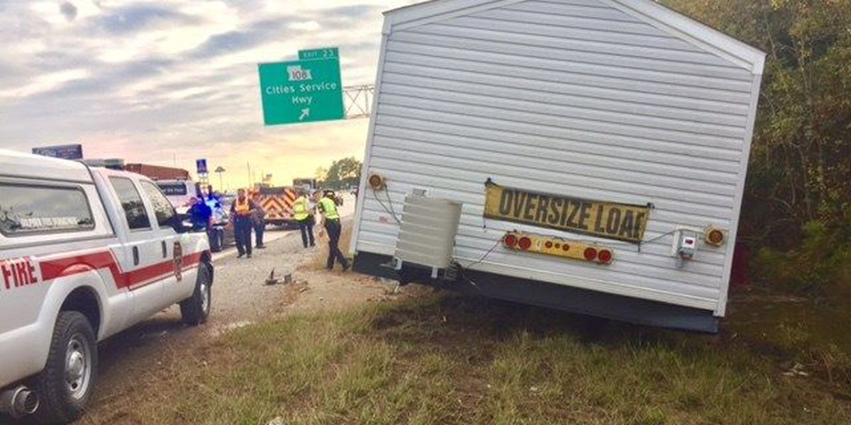 TRAFFIC: Only right lane closed on I-10 W at Cities Service exit, congestion remains
