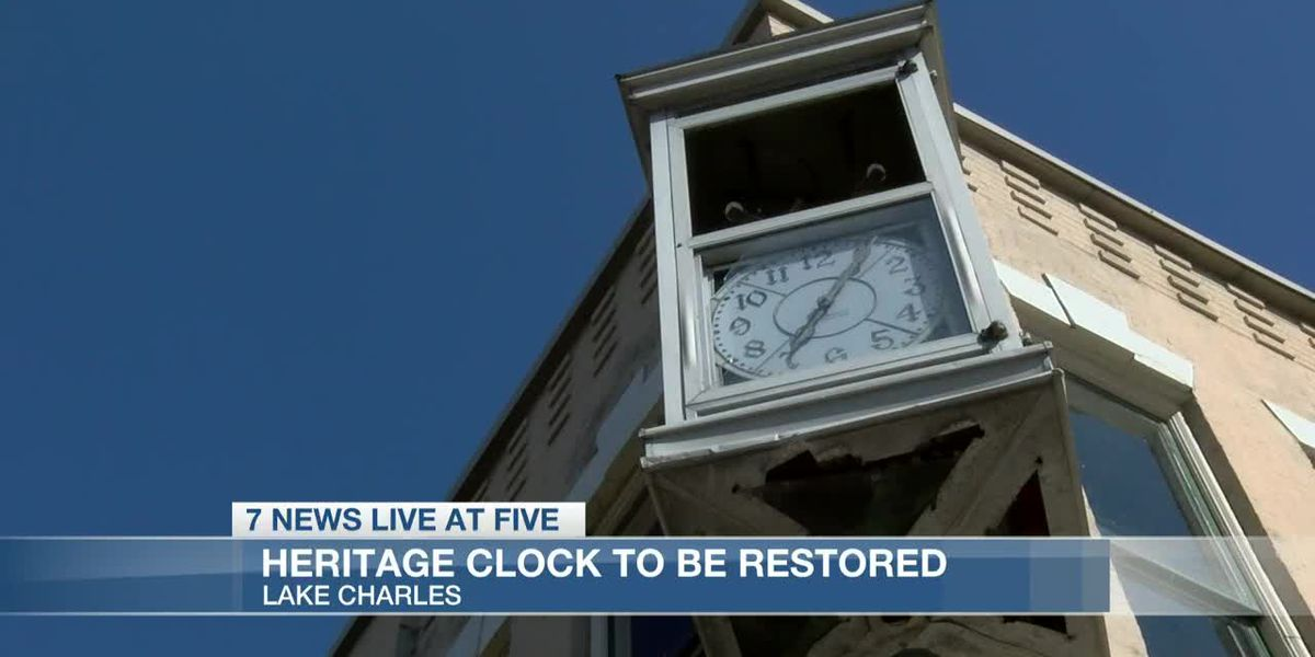 Hurricanes force repairs to heritage clock