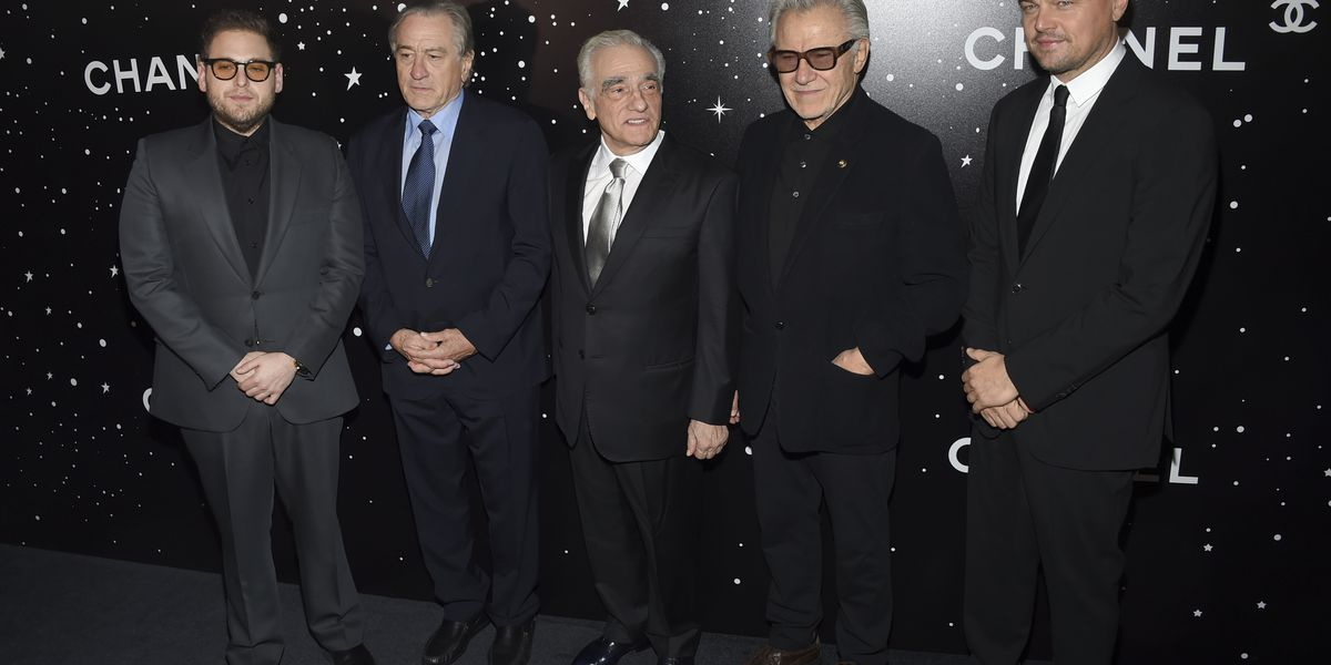 Scorsese feted at MoMA by friends De Niro, DiCaprio, Hill