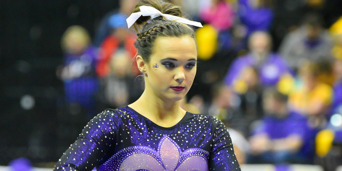Ashleigh Gnat returns to LSU gymnastics as asst. coach