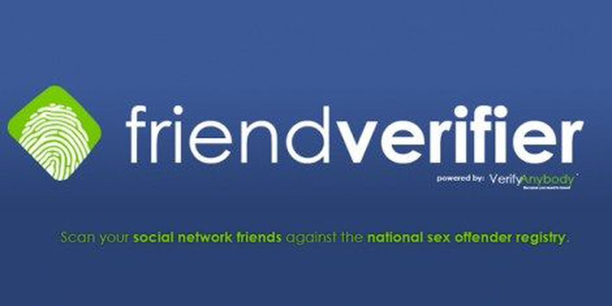 Is your new Facebook friend a registered sex offender?