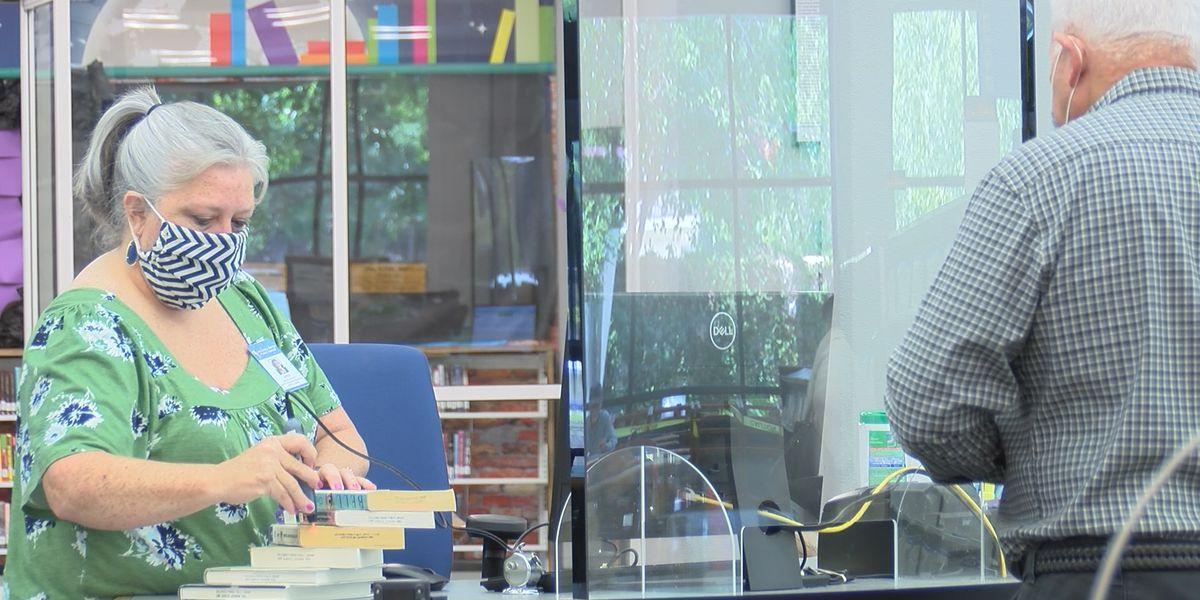 Calcasieu Libraries reopen at reduced capacity after COVID-19 closure