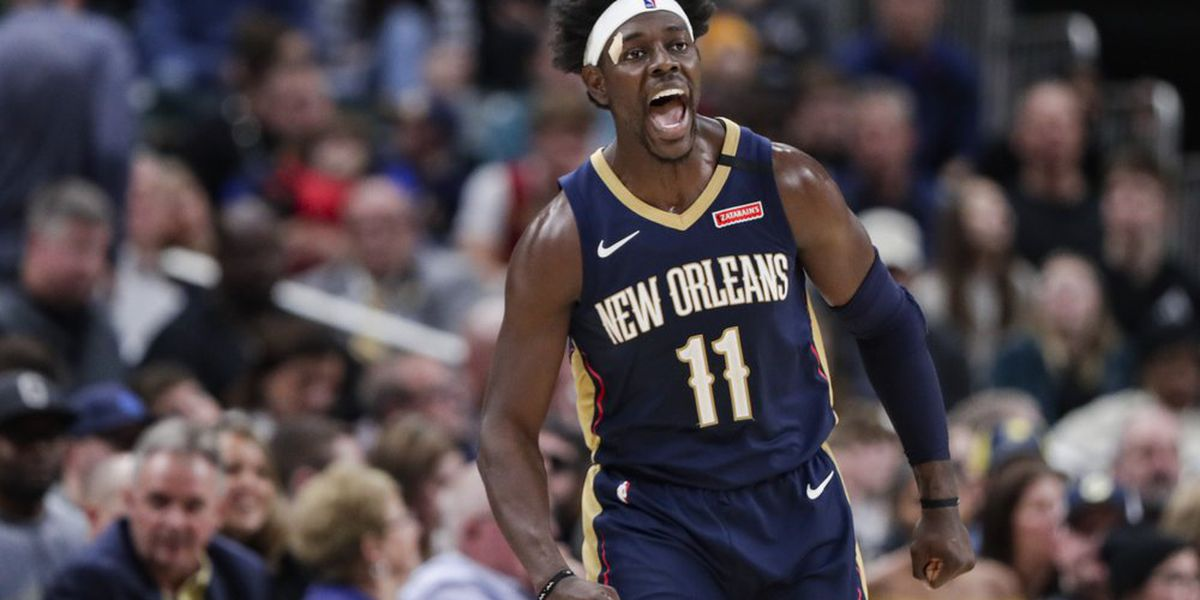 Holiday's 31 lead Pelicans to 124-117 win over Pacers