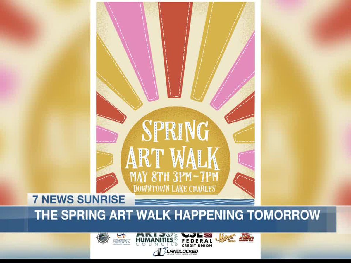 Spring Art Walk making its way back to Lake Area Saturday