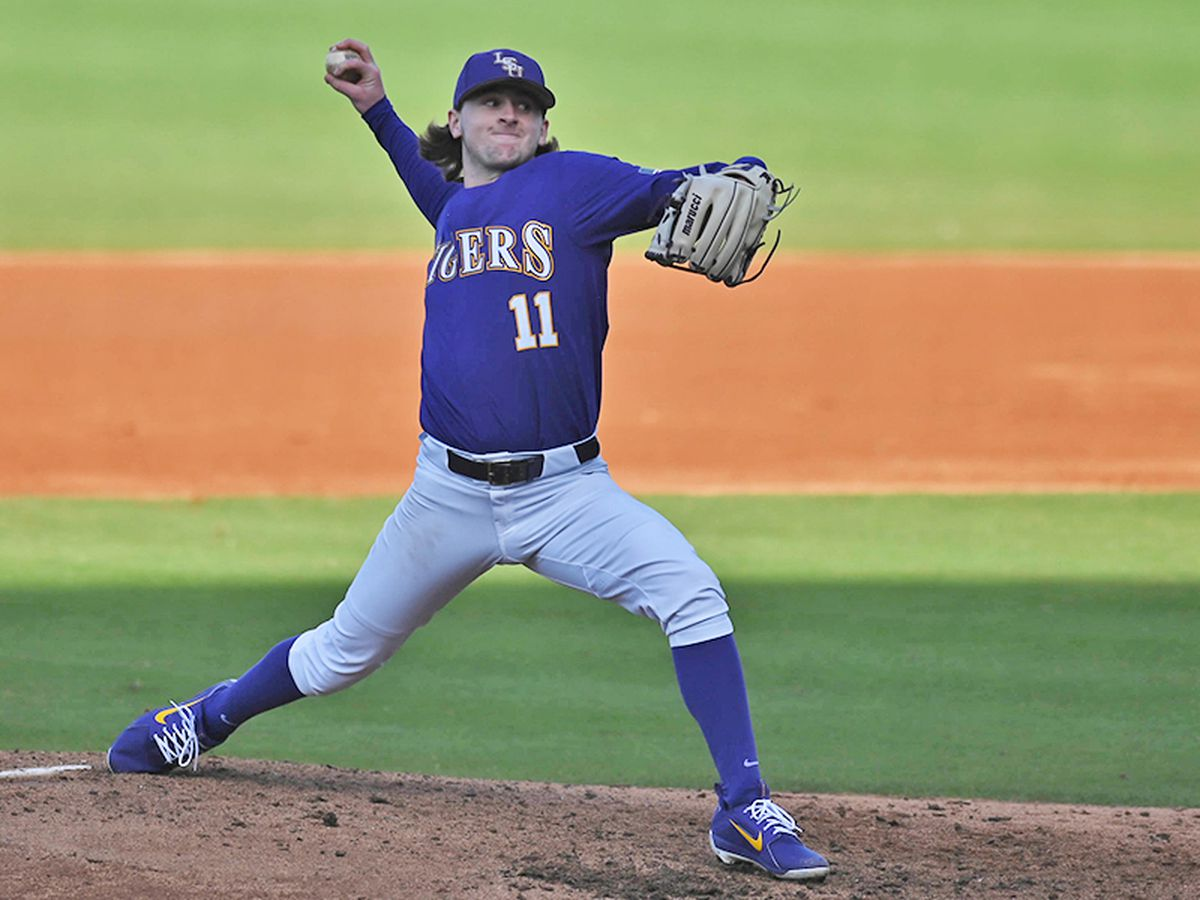 No. 11 LSU evens series with Eastern Kentucky behind strong outing by Marceaux