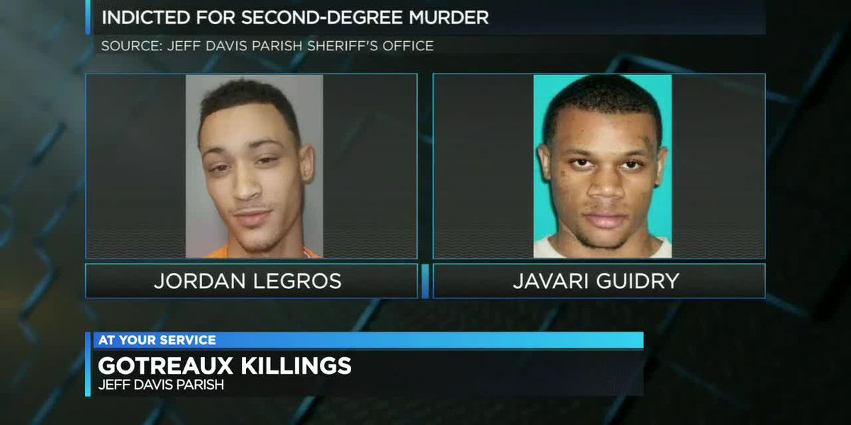 Those indicted in Gotreaux killings plead not guilty to murder