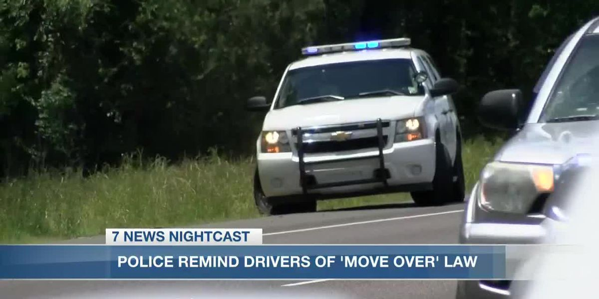 State Police reminding drivers of 'Move Over' law